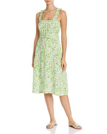 Faithfull the Brand - Mae Floral-Print Belted Midi Dress
