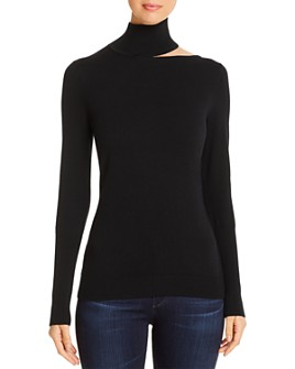 Elie Tahari - Vita Shoulder-Cutout Sweater