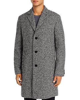 HUGO - Malte Houndstooth Slim Fit Coat
