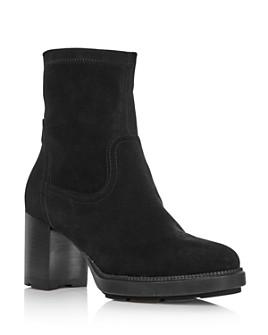 Aquatalia - Women's Idalia Block Heel Booties