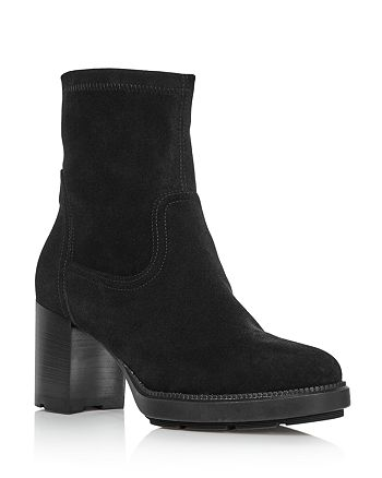 Aquatalia - Women's Idalia Block Heel Booties