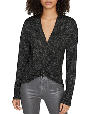 Sanctuary Knot Interested Shimmer Top