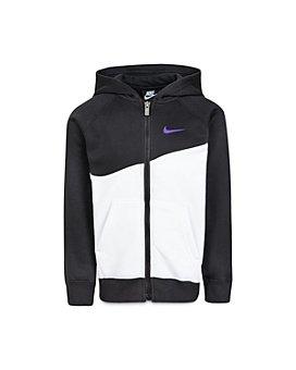 Nike - Boys' Color-Block Swoosh Hoodie - Little Kid