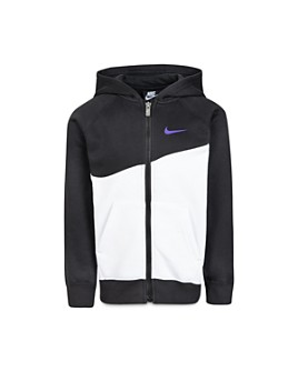 Nike - Boys' Color-Block Swoosh Hoodie - Little Kid