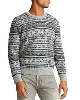 Polo Ralph Lauren - Fair Isle Cotton-Blend Sweater