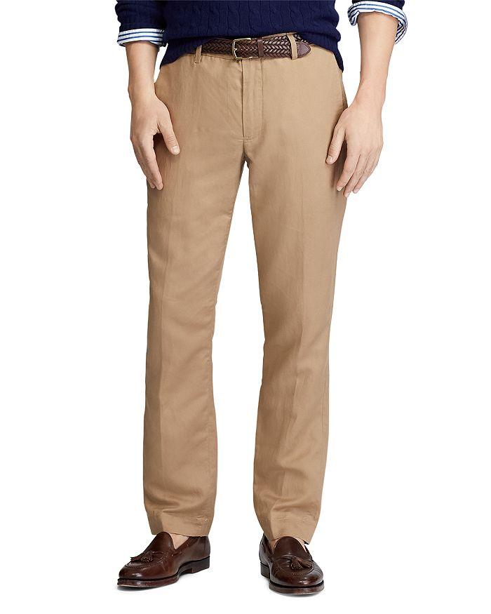 Polo Ralph Lauren - Linen-Blend Straight Fit Pants