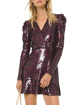 MICHAEL Michael Kors - Sequined Tiger Mini Dress