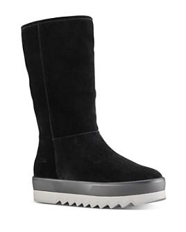 Cougar - Women's Waterproof Suede Mid-Calf Boots