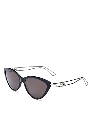 Balenciaga Women's Cat Eye Sunglasses, 56mm