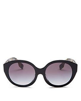 Burberry - Unisex Round Sunglasses, 55mm