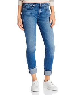 rag & bone - Dre Slim Boyfriend Jeans in Sapphire