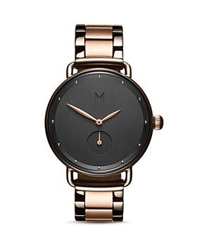 MVMT - Bloom Gunmetal & Rose Gold-Tone Link Bracelet Watch, 36mm