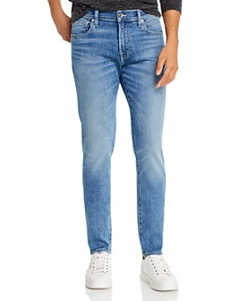 7 For All Mankind - Slimmy Clean Pocket Slim Fit Jeans in Fairfax