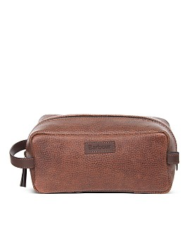 Barbour - Laddon Leather Toiletry Kit