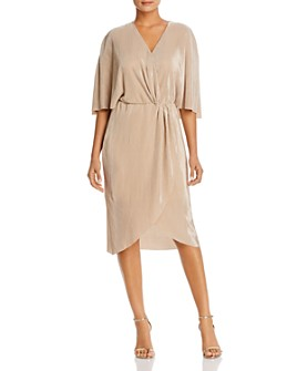Vero Moda - Dagny Ribbed Flutter-Sleeve Dress