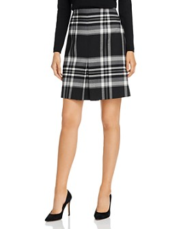 BOSS - Vasanda Plaid Skirt