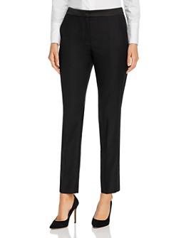 BOSS - Taxtiny Wool-Blend Slim Pants