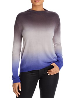 BeachLunchLounge - Tessa Dip-Dye Funnel-Neck Sweater