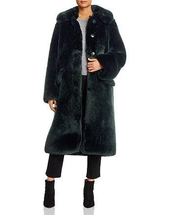 Tory Burch - Long Faux Fur Coat