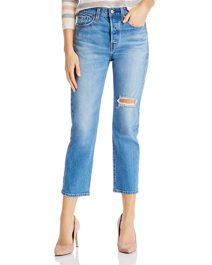 Levi's - Wedgie Straight Jeans in Jive Tone
