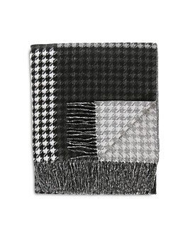 Fraas - Houndstooth Check Throw