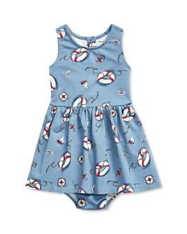 Ralph Lauren - Girls' Nautical Print Dress & Bloomers Set - Baby