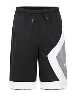 JORDAN - Boys' Air Jordan Color-Block Diamond Shorts - Big Kid