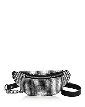Alexander Wang - Attica Mini Rhinestone Belt Bag