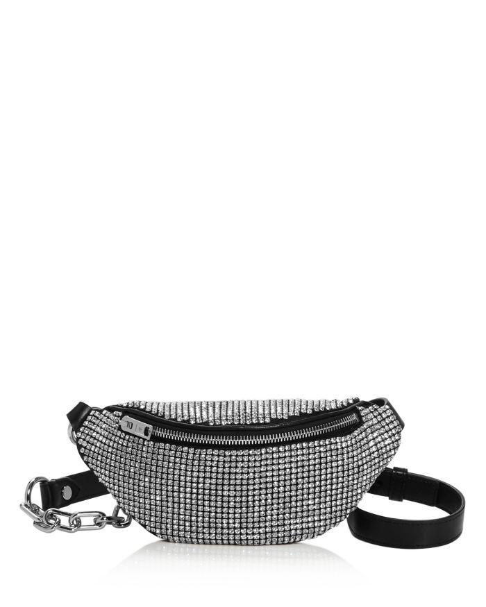 Alexander Wang Attica Mini Rhinestone Belt Bag  | Bloomingdale's