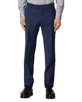 Sandro - Formal Italian 110's Slim Fit Suit Pants