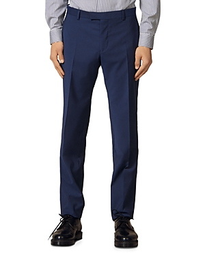 Sandro Formal Italian 110\\\'s Slim Fit Suit Pants-Men