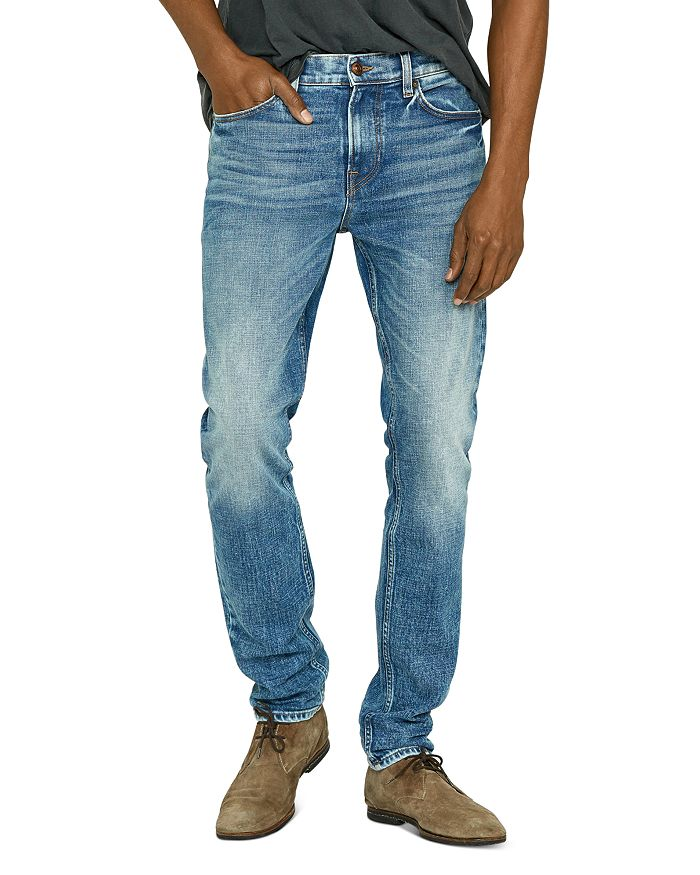 Hudson - Skinny Fit Jeans in Rising