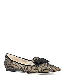 Jimmy Choo - Women's Gala Pointed-Toe Flats