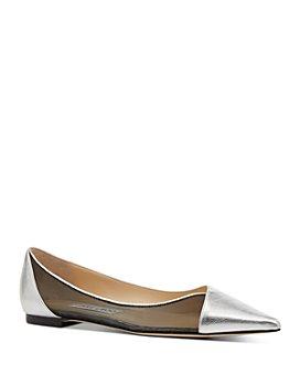 Jimmy Choo - Women's Saia Pointed-Toe Flats