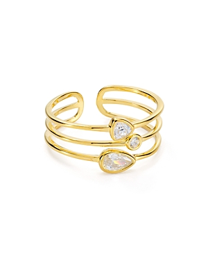 Argento Vivo Layered Ring in 18K Gold-Plated Sterling Silver-Jewelry & Accessories