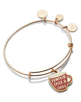 Alex and Ani - Pumpkin Spice and Chill Expandable Charm Bracelet