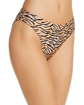 MINKPINK - Endangered Mid-Rise Bikini Bottom