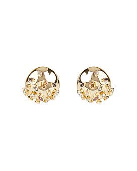Alexis Bittar - Sputnik Button Clip-On Earrings
