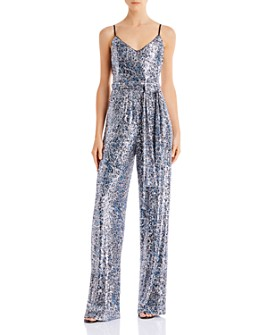 Black Halo - Bracy Sequined Jumpsuit