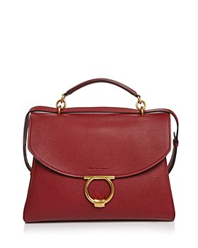 Salvatore Ferragamo - Margot Medium Leather Satchel