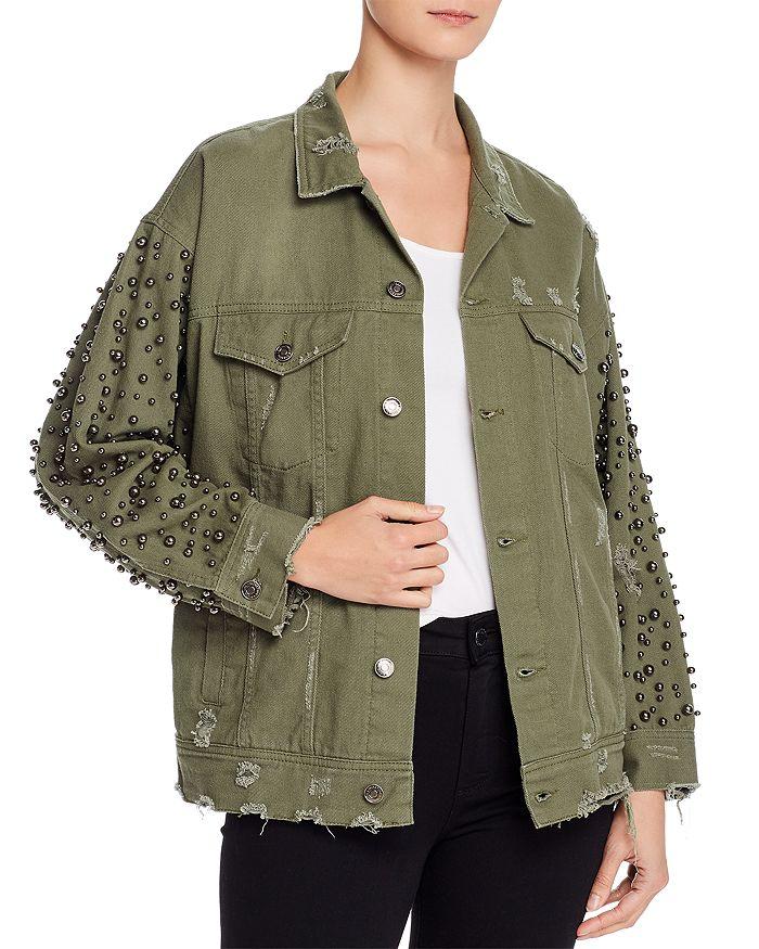 Sunset & Spring - Embellished Denim Jacket - 100% Exclusive