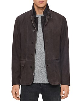 ALLSAINTS - Baston Leather Blazer