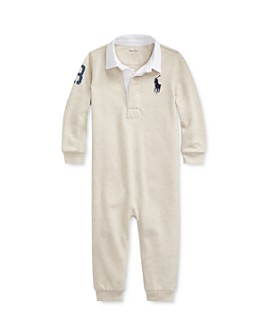 Ralph Lauren - Boys' Graphic Rugby Coverall - Baby