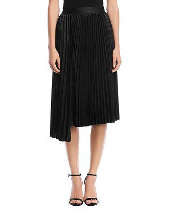 Bailey 44 - Asymmetric Pleated Skirt