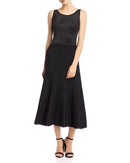Bailey 44 - Lydia Metallic Pleated Midi Dress