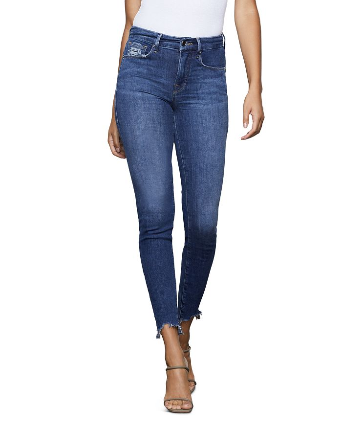 Good American - Good Legs Extreme Stiletto Skinny Jeans in Blue340