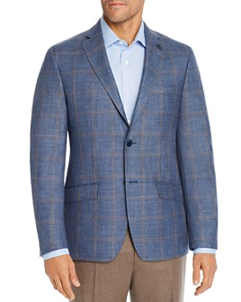 Psycho Bunny - Tonal Windowpane Plaid Regular Fit Sport Coat