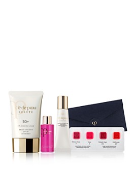 Clé de Peau Beauté - UV Protective Cream SPF 50+ Gift Set ($173 value) - 100% Exclusive