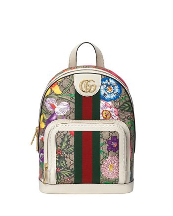 Gucci - Ophidia GG Flora Small Backpack