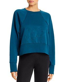 Nike - Get Fit Lux Cropped Sweatshirt